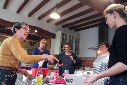 Ambiance gourmande et jolis macarons cet après-midi à Vallières
