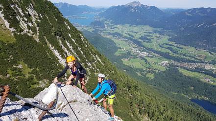 Klettersteig Katrin : Klettersteig katrin tour