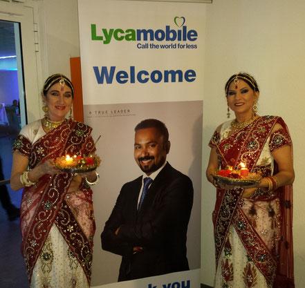 Bollywood Tanz zur Firmenfeier bei Lyca in Groß-Gerau bei Frankfurt
