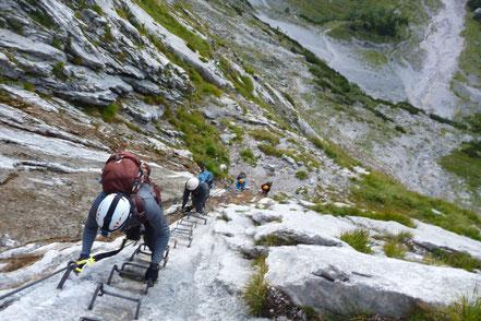 Klettersteige und Klettersteigkurse