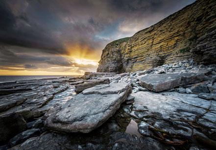 Landschaftsfotograf Deutschland, Sebastian Kaps, Wales, Dunraven Bay