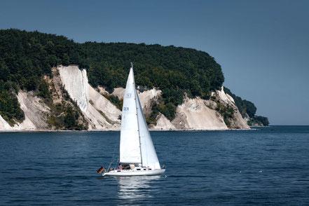 Bootsfahrt zum Königsstuhl