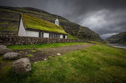 Landschaftsfotograf Sebastian Kaps aus Deutschland, Färöer, Saksun Kirche