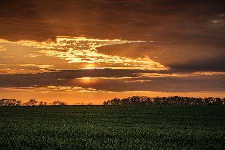 Sonnenuntergang, Insel Ruegen