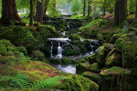 Landschaftsfotografie Deutschland, Bergpark Kassel Wilhelmshöhe, Bachlauf