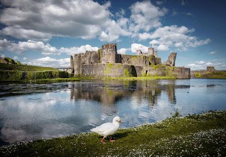 Landschaftsfotograf Deutschland, Sebastian Kaps, Wales, Caerphilly Castle