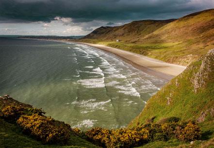 Landschaftsfotograf Deutschland, Sebastian Kaps, Wales, Rhossili Beach