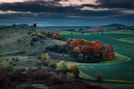 Landschaftsfotograf Deutschland, Nationalpark Harz, Blick von der Teufelsmauer ins Tal