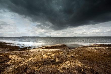 Ostsee bei schlechtem Wetter, Wolken
