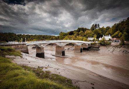 Landschaftsfotograf Deutschland, Sebastian Kaps, Wales, Chepstow Iron Bridge