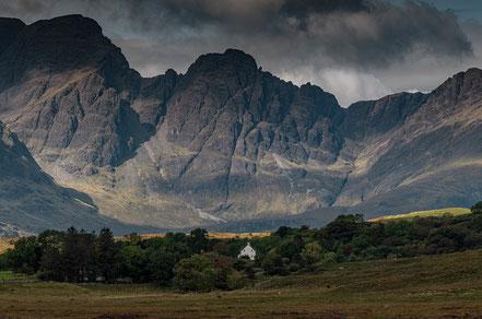 Landschaftsfotograf Deutschland, Sebastian Kaps, Schottland, Gebirge mit Haus