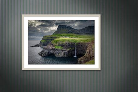 Fotografie als Wanddekoration, gerahmtes Foto