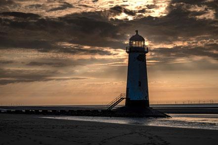 Fotoreise nach Snowdonia und zur Halbinsel Anglesey, Point of Ayr, Talacre Lighthouse