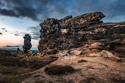 Landschaftsfotograf Deutschland, Nationalpark Harz, Blick zur Teufelsmauer