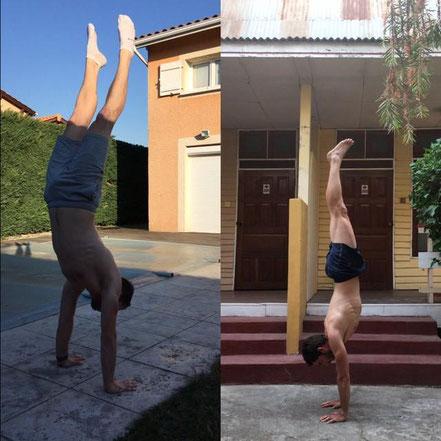 Comment faire le handstand - coaching sportif