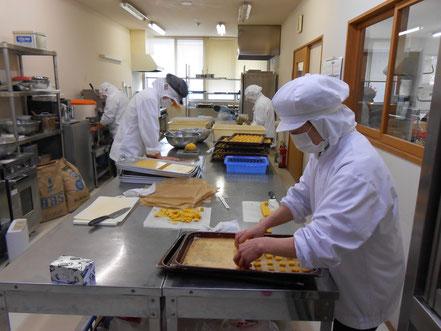 クッキーの製造