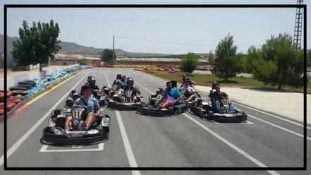 carrera de kart en Murcia