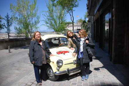 Tour coche clasico Seat 600 Madrid