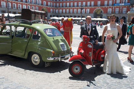 Boda Seat 800 Plaza Mayor Madrid