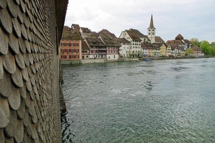 Rheinbrücke Dissenhofen (Schweiz) - Gailingen (Deutschland)