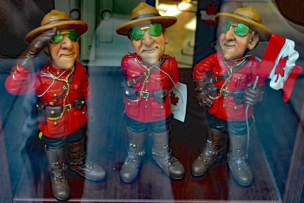 Diese Mounties dürfen in Ontario und Québec keine Verbrecher jagen.