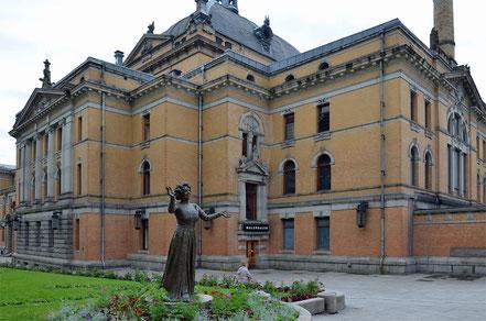 Das norwegische Nationaltheater ...