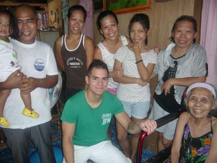 Bei Verwandten zu Besuch (Puerto Princesa)