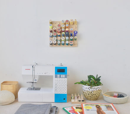 sewing cotton rack
