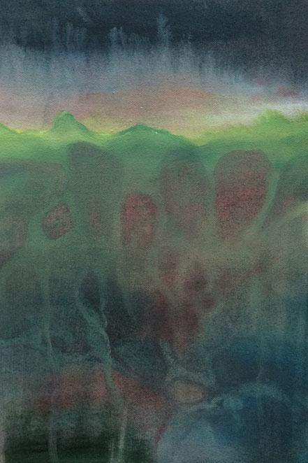 o.T., 2017, Acryl auf Leinwand, 30x 20 cm