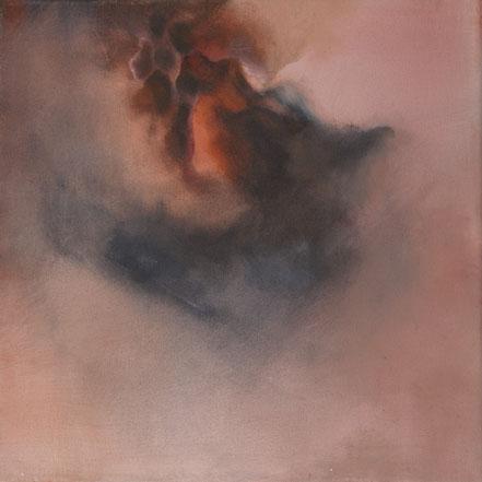 o.T., 2017, Acryl auf Leinwand, 30x30 cm
