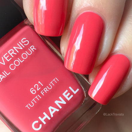 Swatch CHANEL TUTTI FRUTTI 621 by LackTraviata