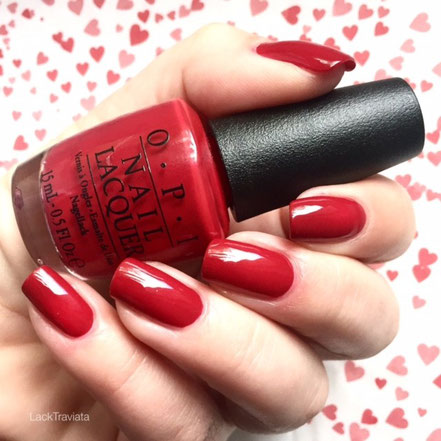 Swatch OPI Amore at the Grand Canal