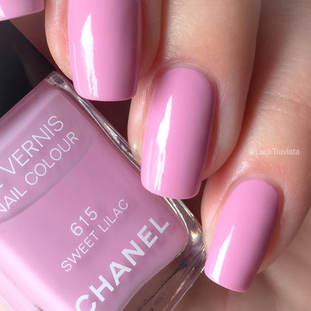 Swatch CHANEL SWEET LILAC 615 by LackTraviata