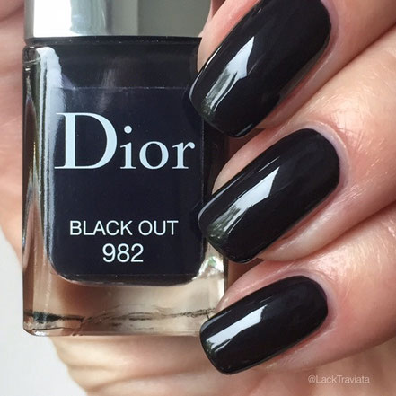 Swatch Dior Black Out 982