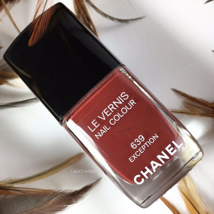 swatch CHANEL EXCEPTION 639 Rouge Allure Collection