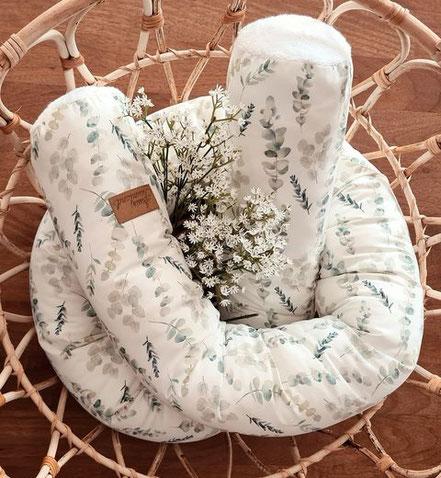 handmade Bettschlange Eukalyptus