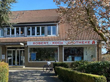 """Robert-Koch-Apotheke (""""Rokotheke"""") in Bremen-Kattenturm (Bremen Obervieland)"""
