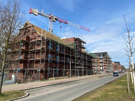 Familienviertel Neubaugebiet Bremen-Arsten Hans-Hackmack-Str. (Foto: 02.03.2020 Jens Schmidt)
