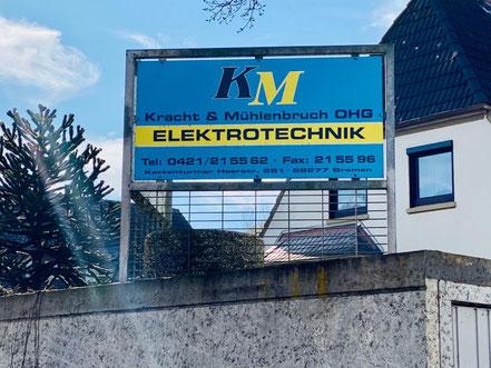 Kracht & Mühlenbruch Elektrotechnik an der Kattenturmer Heerstraße in 28277 Bremen Kattenturm