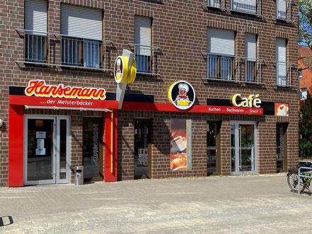 Hansemann der Meisterbäcker Filiale mit Café in Bremen-Arsten, Bremen Obervieland