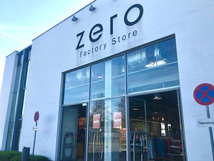 Zero Outlet Factory Store im Gewerbegebiet in Bremen-Habenhausen, Bremen Obervieland
