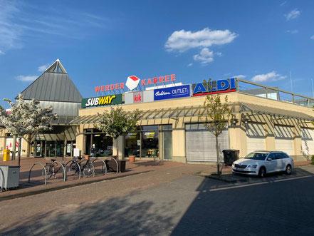 Werder Karree Einkaufszentrum in Bremen-Habenhausen, Bremen Obervieland