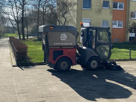 Auf Sauberkeit wird in Bremen Kattenturm geachtet (Foto: Jens Schmidt, 05.03.2020)