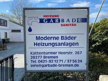 Garbade Heizung Sanitär in 28277 Bremen-Kattenturm