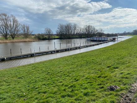 Yachthafen Korbhaussee Bremen-Obervieland (Winter 2020)