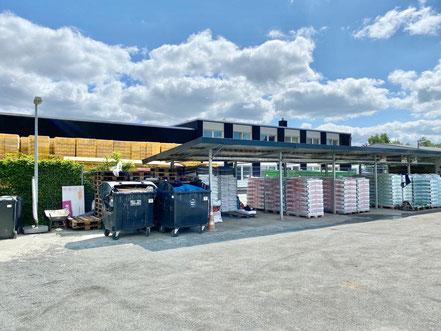 Recyclingstation Obervieland in Bremen-Habenhausen (Foto: 05-2020, Jens Schmidt)