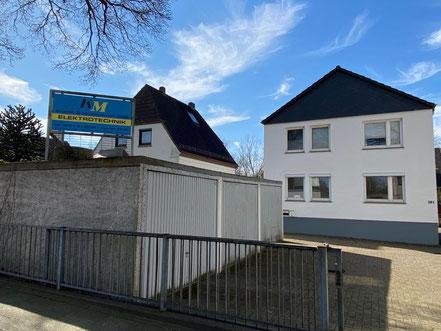 Kracht & Mühlenbruch Elektrotechnik stadtauswärts an der Kattenturmer Heerstraße in Bremen