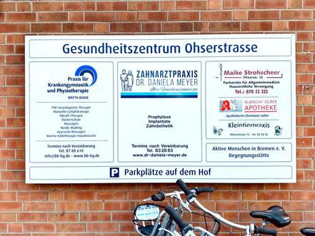 Gesundheitszentrum Ohserstraße in Bremen-Habenhausen (Bremen Obervieland)
