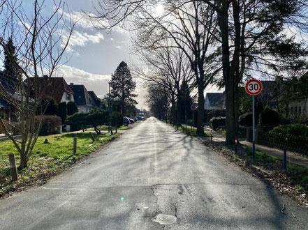 Fellendsweg in Bremen Habenhausen (Foto: 02-2020)