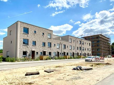 Baufortschritt im Mai 2020 in der Gartenstadt Werdersee (Foto: 05-2020, Jens Schmidt)